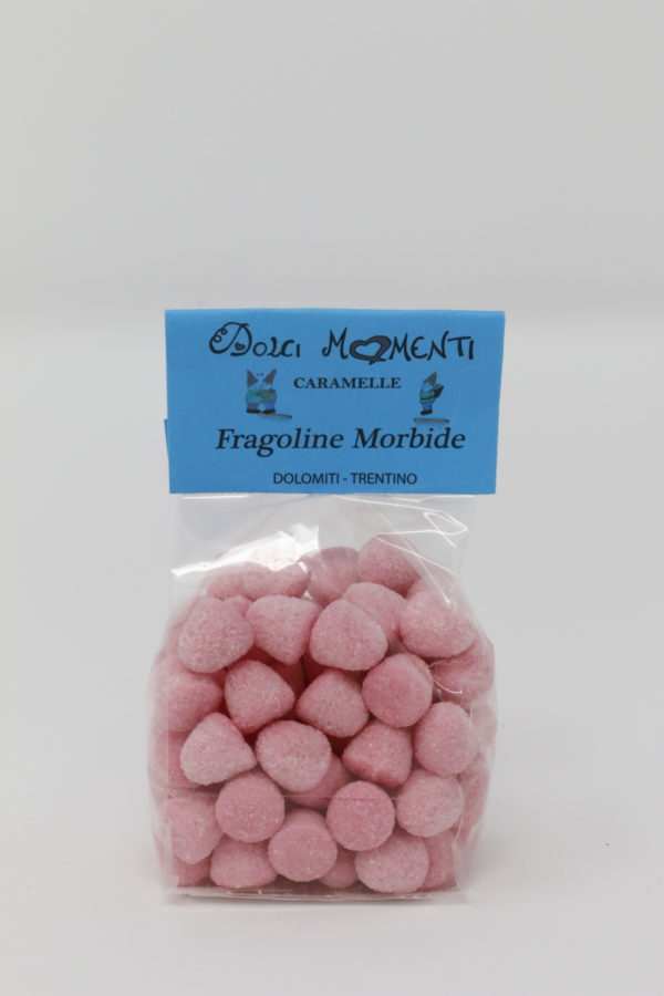 Caramelle fragoline morbide - Dolomiti Trentino