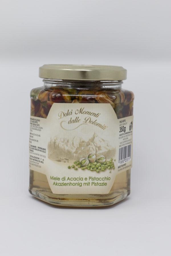 Miele di acacia e pistacchio