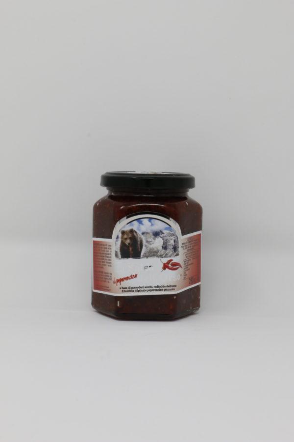 Salsa dell'orso peperoncino - trentino