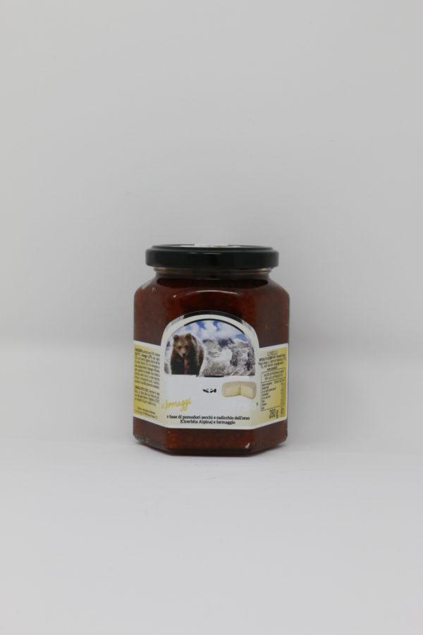 Salsa dell'orso formaggi - trentino